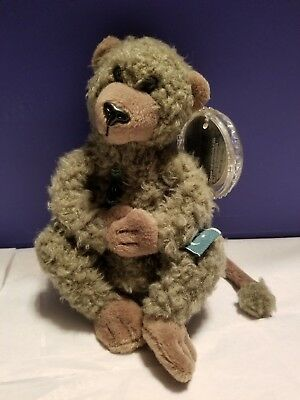 Coke International Coca Cola Beanie Animals Croon the Baboon Pakistan NWT