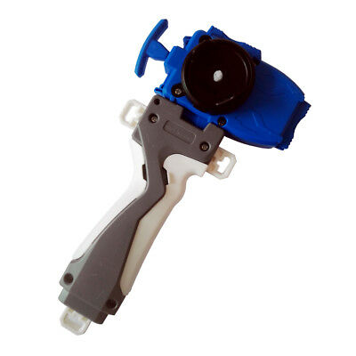 Blue Beyblade Burst B-11 Blue String Launcher / Beylauncher w/ GRIP Set yo