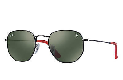 RAY-BAN RB3548NM SUNGLASSES SCUDERIA FERRARI COLLECTION Lim. Edition F009/31