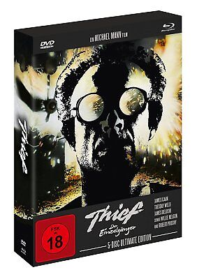 Thief - Der Einzelgänger-Ultimate Edition(5-Disc Set) BluRay+DVD  - NEU  (1380)