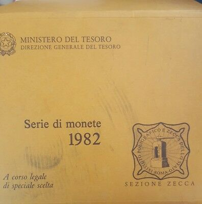 1982 Italy Mint Set - UNCIRCULATED...