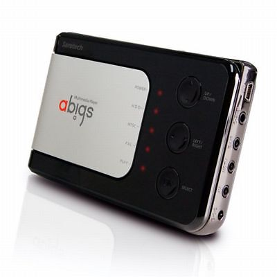 "abigs DVP-260S HDD media player Auto Audio/Video System FM Transmitter 2,5"" HDD"