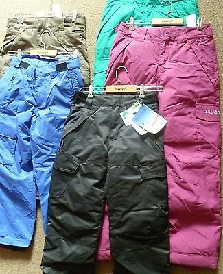 Billabong Age 10, 12 Ski Pants/Salopettes Various Colours RRP £70