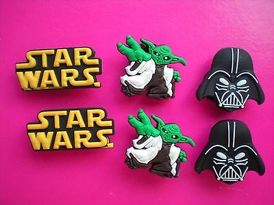 Jibbitz Croc Clog Shoe Charm Button Plugs Fit Holey Accessories Bands Star Wars