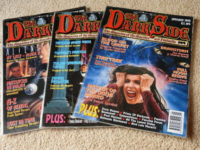 The Dark Side: The Magazine of the Macabre and Fantastic. 3 Issues