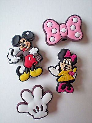 Clog Charm Fit Clog Bracelet Holey Accessories Minnie Mickey Mouse