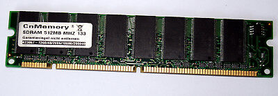 512 MB SD-RAM PC-133 non-ECC  double-sided