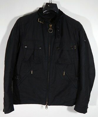 Barbour International Burgat Men's Jacket Wax MWX0457NY92 Размер S
