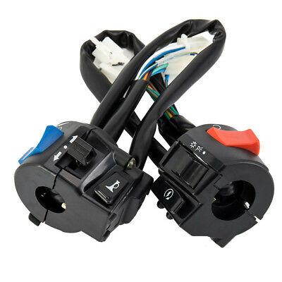 Universal 7/8''  Motorcycle Handlebar  Horn Turn Left And Right  Control Switch