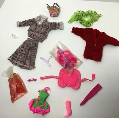 Barbie Clothing Lot Misc. Clothing Vintage (Untagged)