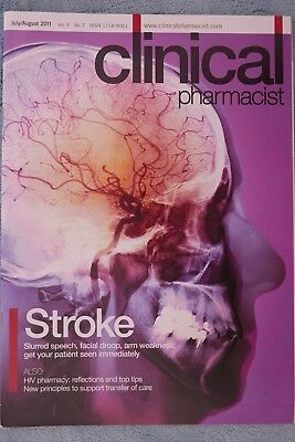 Clinical Pharmacist Magazine, Vol.3, No.7, July/August 2011, Stroke treatment