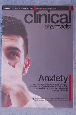 Clinical Pharmacist Magazine, Vol.5, No.10, December 2013, Anxiety disorders