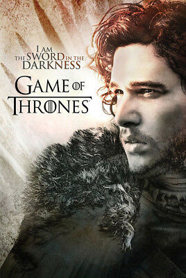 Game Of Thrones Jon Snow Quote 12X18 Poster Wall Decor Art Tv Series Hbo