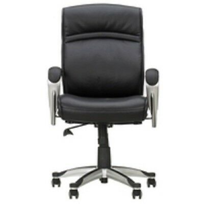 john lewis morgan leather office chair black rrp 289 143 99
