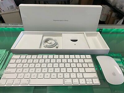 Apple Magic Keyboard and Mouse Version 2 Combo BUNDLE MLA022LL/A and MLA22LL/A