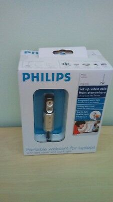 PHILIPS PORTABLE WEBCAM SPC610NC Brand New in box