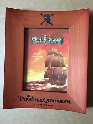 Disney Parks Pirates of the Caribbean At Worlds End Solid Wood Photo Frame