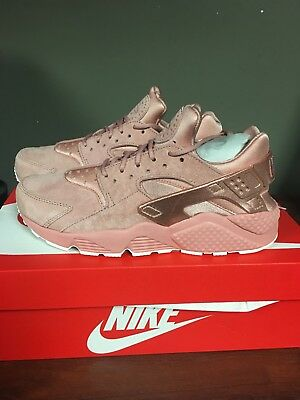 Nike Air Huarache Run Premium Rust Pink/mtlc Red Bronze-Sail 704830-601 New 2018