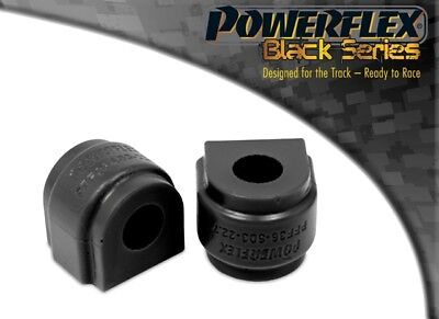 Powerflex BLACK Front Anti Roll Bar Bush PFF36-603-22.7BLK for Mazda 4 for Fiat