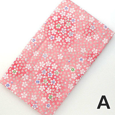 Japanese traditional towel TENUGUI  FLOWER RED GAZE COTTON  MADE IN JAPAN