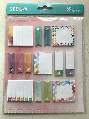 Erin Condren Sticky Notes 14 Adhesive Sticky Note Pads, Planner Diary