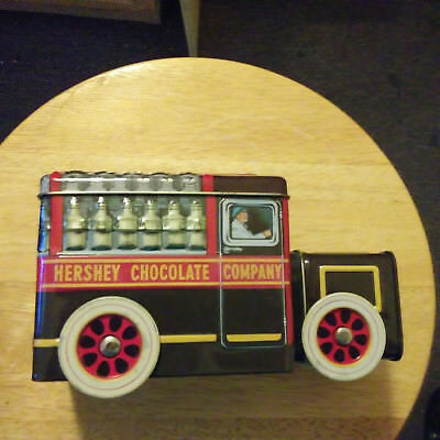 HERSHEY DELIVERY TRUCK Tin Box COLLECTION