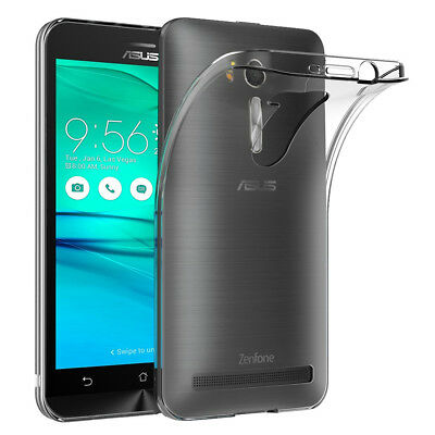 "Coque Silicone TPU Clear gel Ultra Fine Asus Zenfone Go ZB500KL 5.0""/ X00AD"