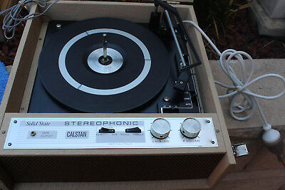 calstan  solid state stereophonic record player