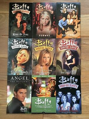 Collection of 9 Buffy the Vampire Slayer graphic novels - excellent condition