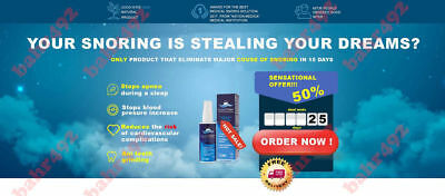 Good Niter - Anti-Snoring Throat Spray - Stop SNORING FOREVER
