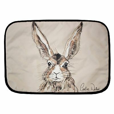 Billy Hare Design Fabric Padded Placemat by Caroline Walker