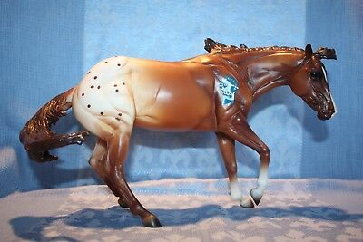 New Breyer 2016 Vintage Club CHARLIE Bay Appaloosa #712173 Stock Horse Mare