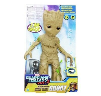 Guardians of the Galaxy Vol. 2 Dancing Groot Interactive Figure 2017