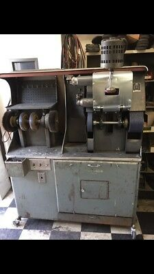 Shoe Repair Finisher Machine sander buffer Great Condition
