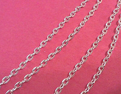 """24/"""" 3mm Solid Snake Chain Necklace Real Sterling Silver 37.50gr"""