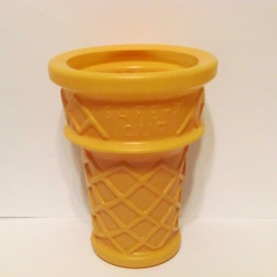 "Safe-T Cup Ice Cream Cone Dairy Queen Display 6"" Cone Only"