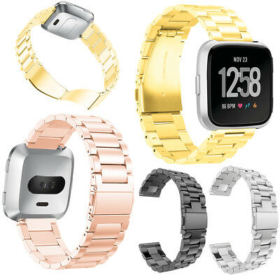 Stainless Steel Band for Fitbit Versa/Versa Lite Edition/Versa Special Edition