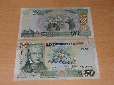 Bank Of Scotland 15th April1999 (£50) Fifty Pound Note, Uncirculated Condition