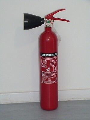 CO2 Fire Extinguisher 2kg with CE/BSI Approval BUY 1 GET 1 FREE