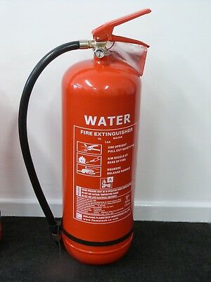 Water Fire Extinguisher 9ltr with CE/BSI Approval BUY 1 GET 1 FREE