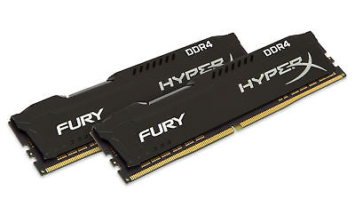 16GB Kingston HyperX Fury PC4-21300 CL16 2666MHz Dual Memory Kit (2 x 8GB)