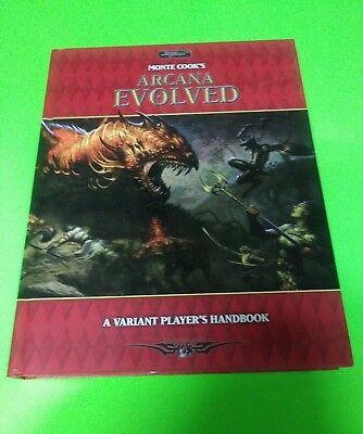 Monte Cooks Arcana Evolved by Sword and Sorcery Staff (2005, Hardcover)