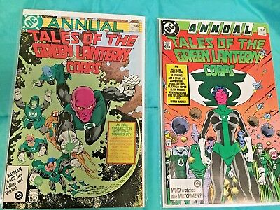 (NM- Set) Tales of the Green Lantern Corps Annual 2 & 3 Alan Moore ~ High Grade!