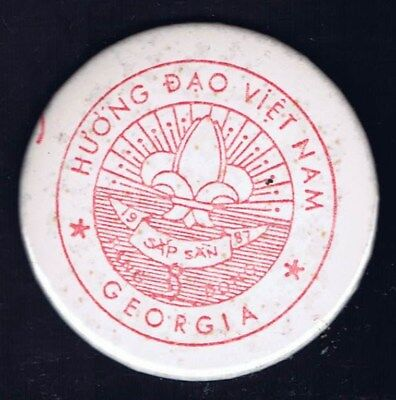Traded At World Jamboree Huong Dao Vietnam Georgia 1987 600939