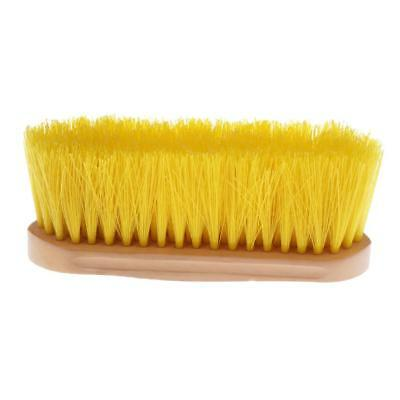 Horse Brush Mane and Tail Comb Equestrian Care Grooming Equipment Yellow
