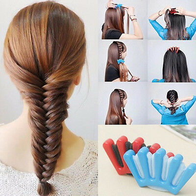 2color Sponge Hair Plait Braider Quick French Twist Styling Braiding Tool Braid