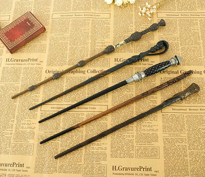 NEW Harry Potter Movie Wands Metal Core Cool Magical Wand High Quality Gift Box