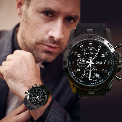 HOT Stainless Steel Luxury Sport Analog Quartz Modern Men Fashion Wristwatch