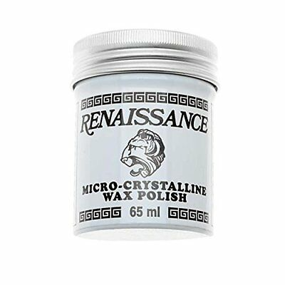 Renaissance Coat Wax Micro Crystalline Wax Polish 65ml 2.25oz Can Free Shipping