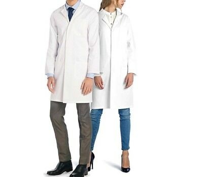 Doctor Dr James Unisex White Lab Laboratory Chemistry Coat Cotton SIZE XXL
